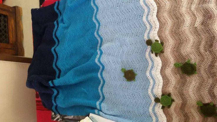 crochet summer blanket for a dear baby...