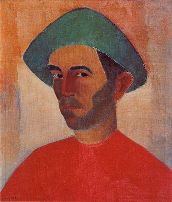Artist: Jose Pancetti Completion Date: 1952 Style: Post-Impressionism Genre: self-portrait
