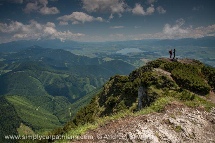 View from Velky Choc. #Slovakia #mountains  www.simplycarpathians.com
