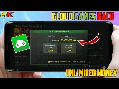 GLOUD GAMES MOD APK || UNLIMITED MONEY || PLAY ALL GAMES