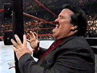 Paul Bearer on WWF Over The Edge (1999)