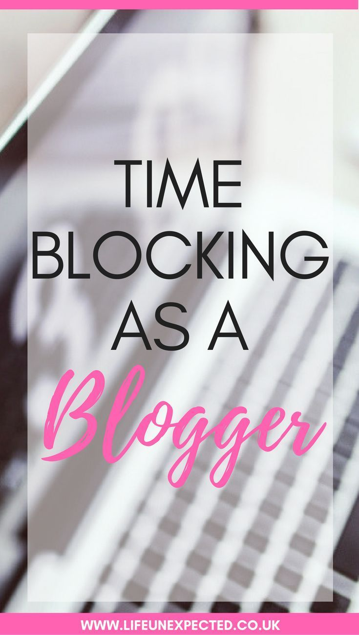Time blocking, why it's great for blogging