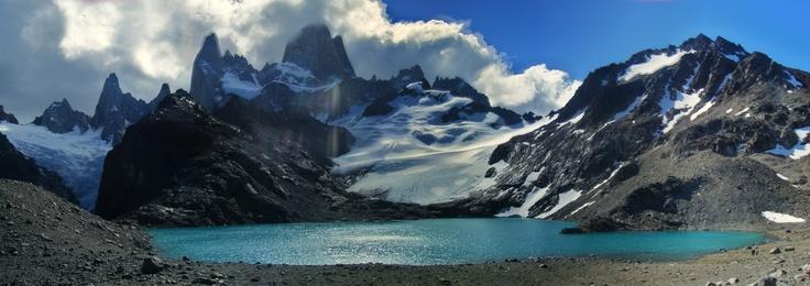 Laguna de los tres, El Chaltén, Santa Cruz, Argentina 2009