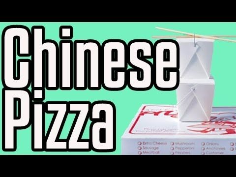 Chinese Pizza - Epic Meal Time Gotta try this!!!!