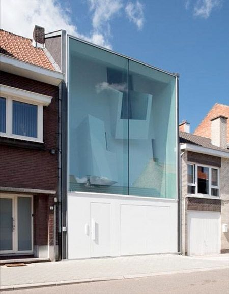 Glass Townhouse, Belgium - Bassam El Okeily Architects