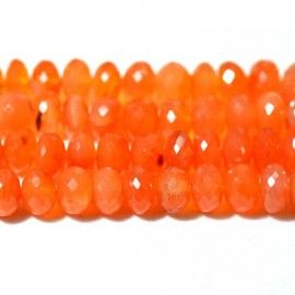 Carnelian Gemstone From African Mines Wholesale Beads - 9mm to 12mm Get the best natural Carnelian Gemstone beads from African Mines. Available in clear faceted cut beads