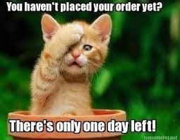 Still time to get those orders in by 8pm tonight www.avon.uk.com/store/katysonlineshop