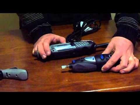 Vidrio del grabado con la Dremel 400 Series XPR - YouTube