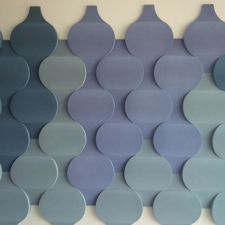 Fluffo Flow 2.0 soft, acoustic wall panels