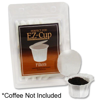 Filter Papers For EZ Cup    Reusable K Cup Filters   50 Count   Make your own K-Cups