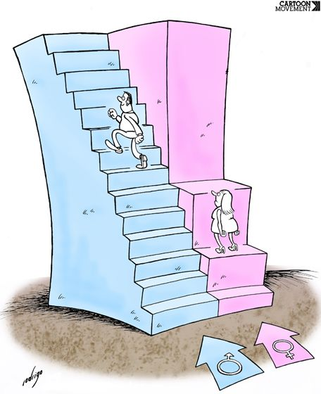 10 Cartoons for International Women's Day