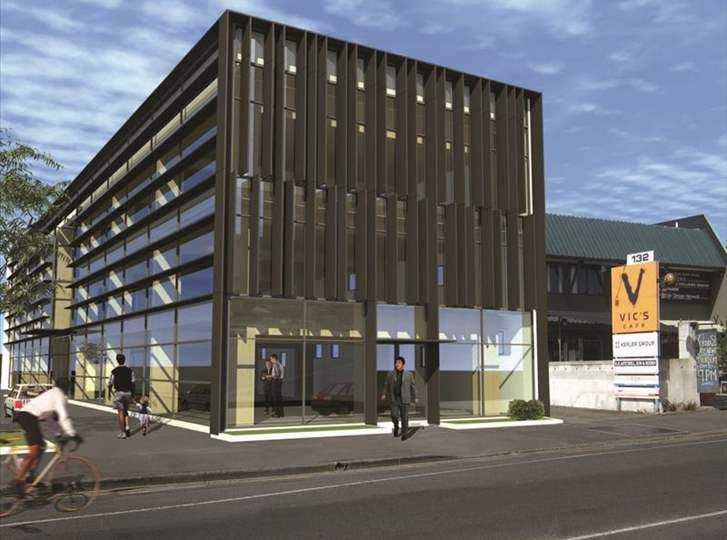 134 Victoria Street - timber building