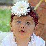 Mississippi State University Maroon and White Princess Headband, go dawgs, hailstate, Mississippi, football