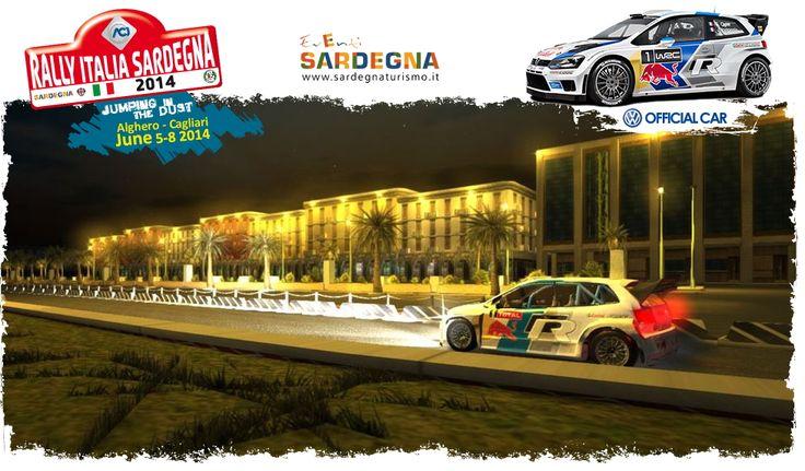 RALLY ITALIA SARDEGNA 2014- ALGHERO e CAGLIARI – 5-6-7-8 GIUGNO 2014