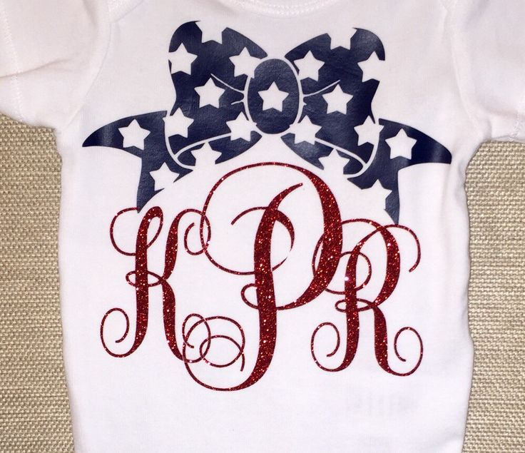 A personal favorite from my Etsy shop https://www.etsy.com/listing/238050143/baby-girl-fourth-of-july-onesie-july-4th