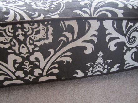 How to make a boxed cushion cover
