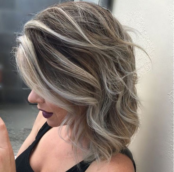Shadow roots are all the rage for fall hair color. We like this one by Mark Anthony's Salon stylist Stacey. Aveda hair color formula in comments.