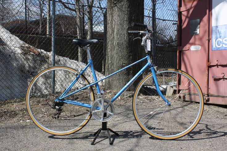 Blue Univega Mixte  Refurbished bikes are $340 and up at the BNB Shop!
