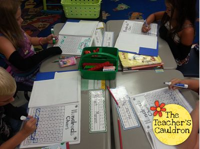 Using our math folders every day - analyze, dissect and work with numbers using different skills through out the week!