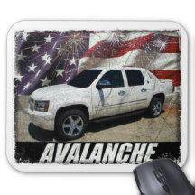 2013 Avalanche LTZ Mouse Pad