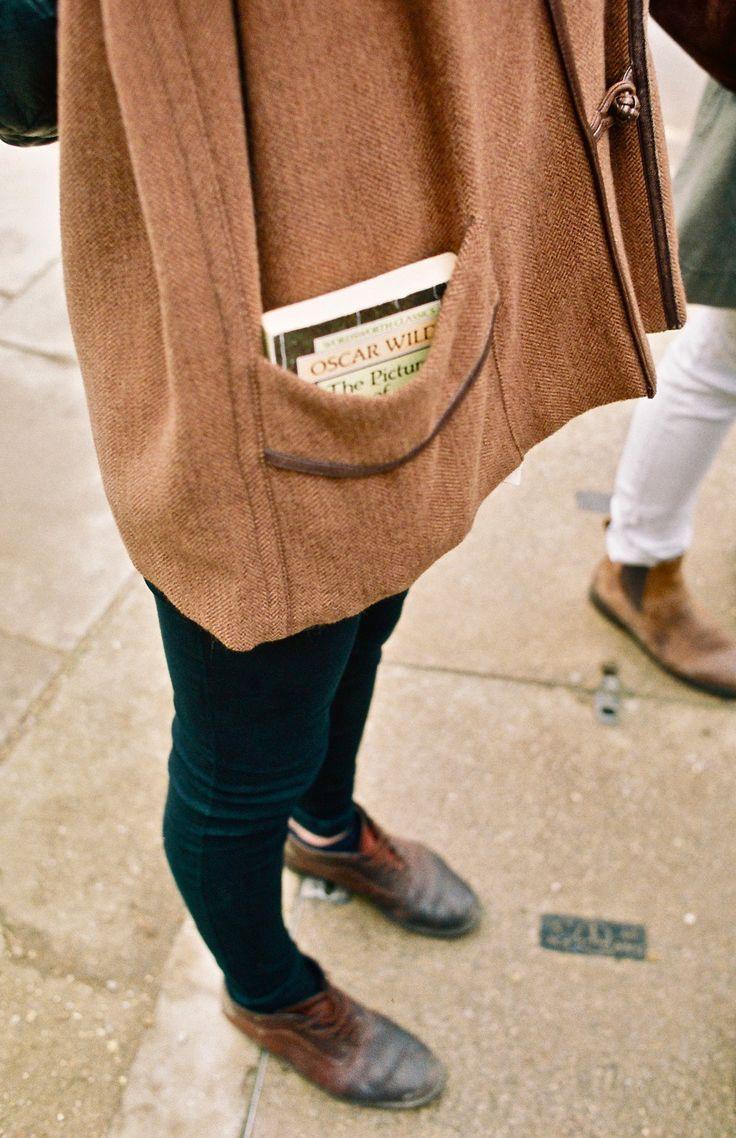 Pockets big enough for books...
