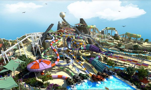 World's largest Water Park in the World: Yas Water World | Dubai ...