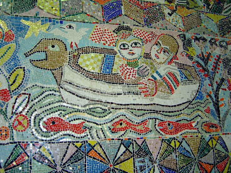 Mirka Mora mosaic (detail)