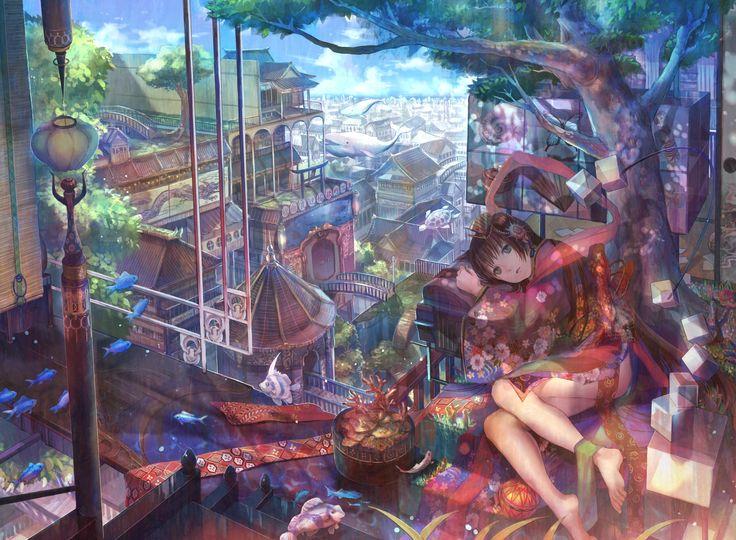 天女の午後 / Artist: http://www.pixiv.net/member.php?id=27517
