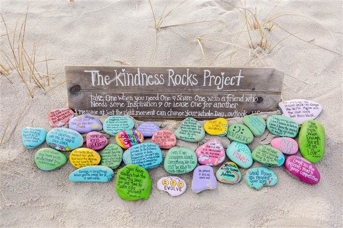 Kindness Rocks - How rock painting is uniting folks & families nationwide. Rock painting groups are popping up across the country. Here's why you may want to be on the lookout for their colorful creations.