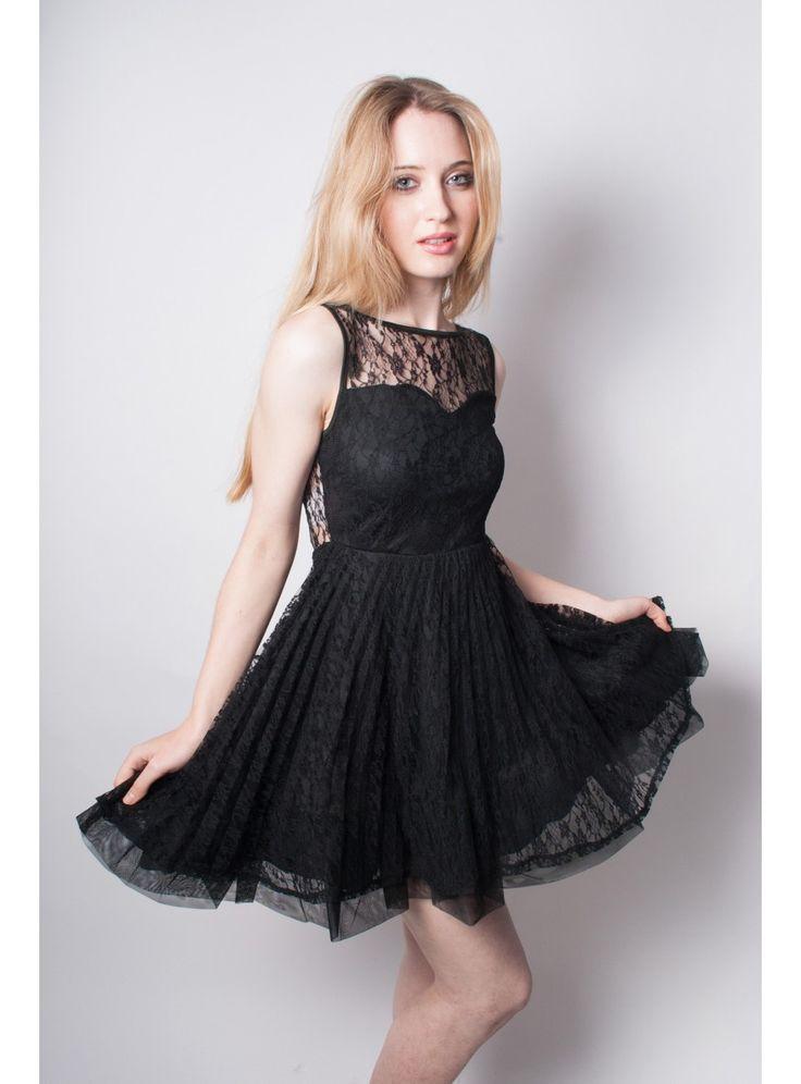 Black-Party-Dresses-Sweatheart