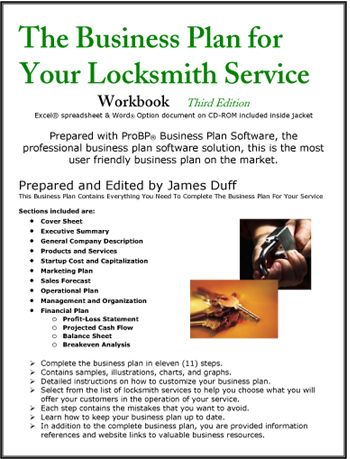 The Business Plan For Your Locksmith Service Stuff Planning Services