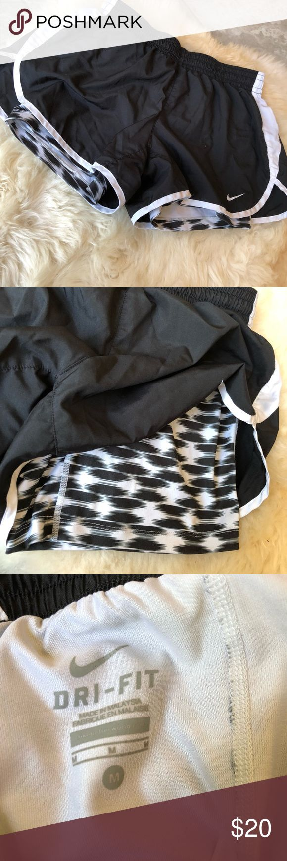 Nike dri-fit workout shorts with bike shorts •Only worn a few times!! In amazi...