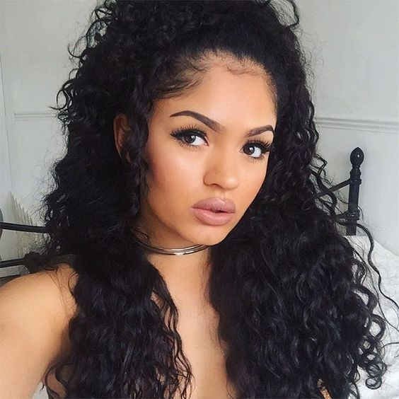 140 best Deep Wave Hairstyle images on Pinterest   Natural hair, Natural hair care and Natural ...