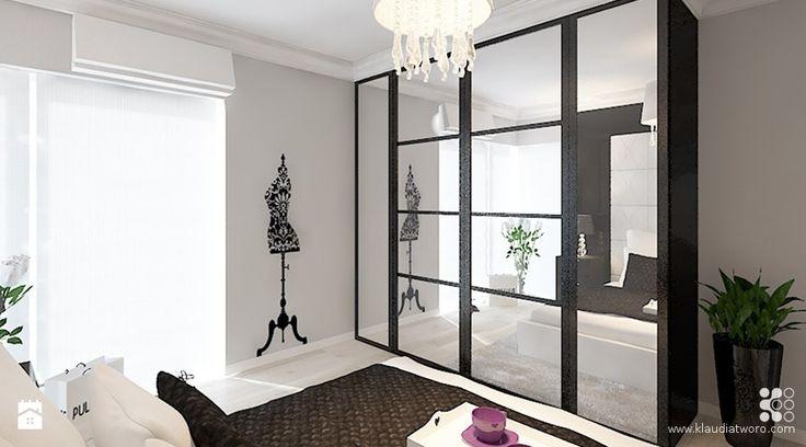 Sypialnia - zdjęcie od Klaudia Tworo Projektowanie Wnętrz - Sypialnia - Klaudia Tworo Projektowanie Wnętrz