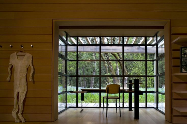 full window extension: Bathroom Design, Creeksid Resident, Bohlin Cywinski, Interiors Design Offices, Design Bedroom, Offices Interiors Design, Minimalist Office, Cywinski Jackson, Interiors Ideas