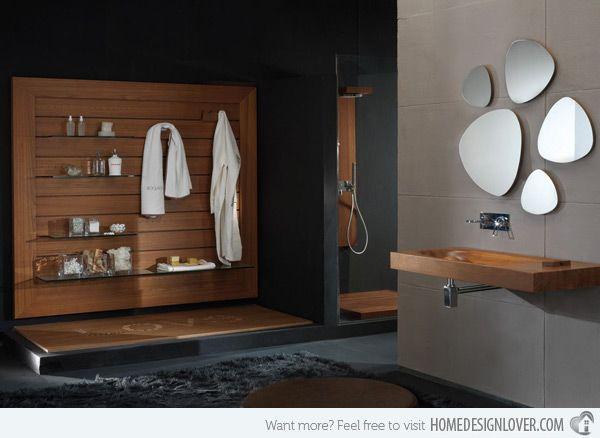 5 Gorgeous Scandinavian Bathroom Ideas: Best 25+ Wooden Bathroom Ideas On Pinterest