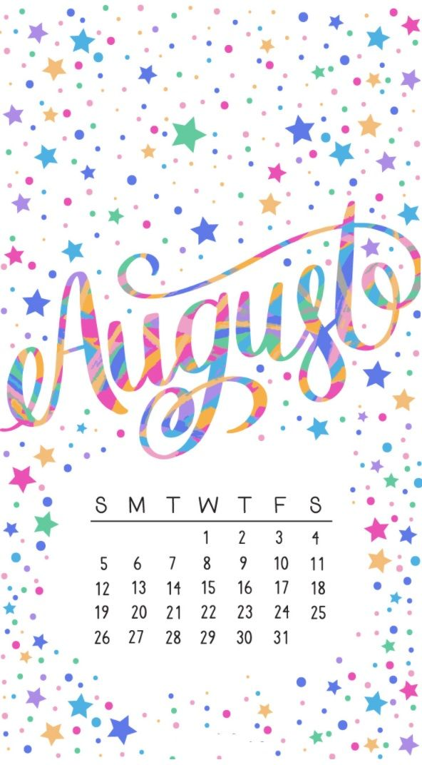 Beautiful August 2018 Iphone Calendar Wallpapers Calendar Wallpaper Print Calendar August Wallpaper