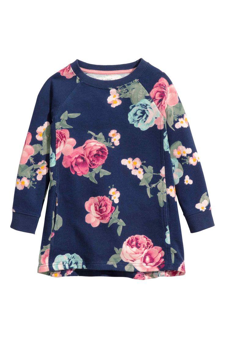 H & M-Sweatshirtkleid
