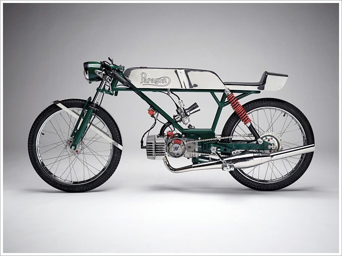 "Janus Motorcycles - ""TheParagon"" - Pipeburn - Purveyors of Classic Motorcycles, Cafe Racers & Custom motorbikes"
