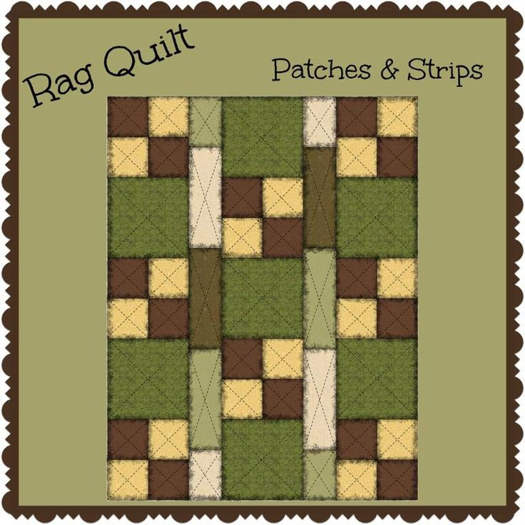 1000 Ideas About Strip Rag Quilts On Pinterest Rag