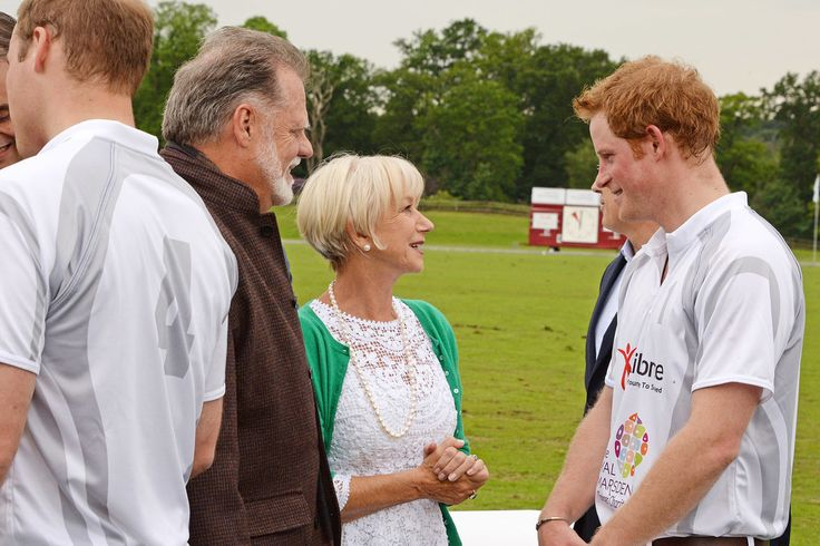 The Royal Brothers Rub Shoulders With Stars at Their Polo Match: Princes William and Harry put their polo skills to the test for a star-studded audience in Ascot, England, on Saturday.