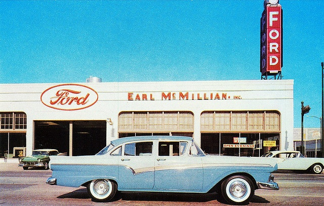 473 best early car dealerships images on pinterest old for Ford motor company dealerships