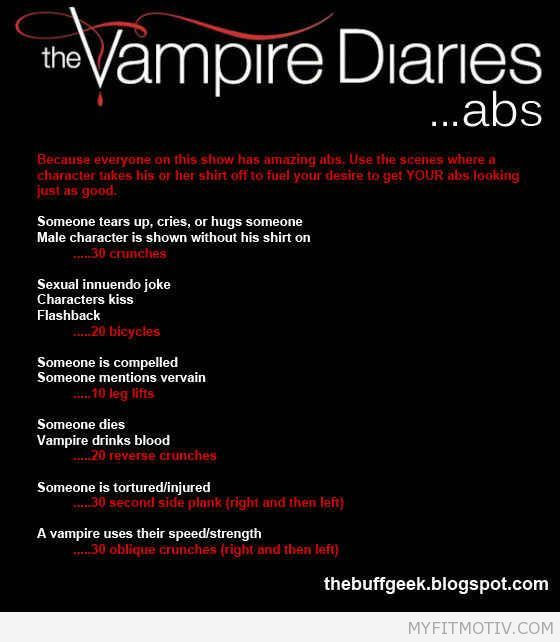 The Vampire Diaries | 43 Workouts That Allow You T - http://myfitmotiv.com/the-vampire-diaries-43-workouts-that-allow-you-t-2/ #fitness #workout #motivation #training #crossfit