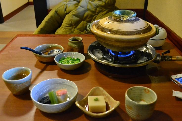 湯豆腐。京都の味がした。。。