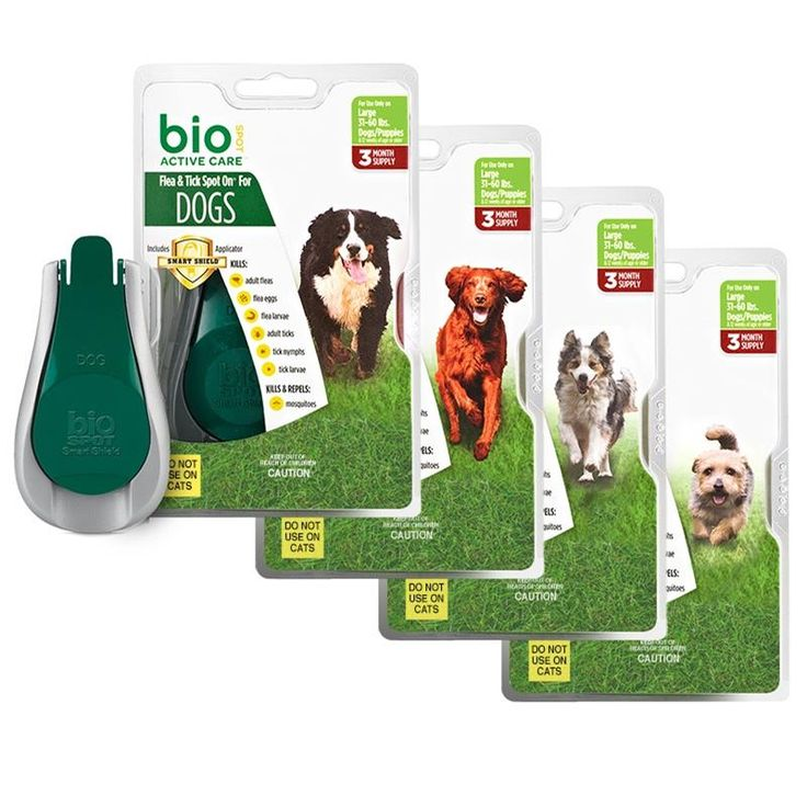 Bio Spot Active Care Spot On Flea And Tick | For Dogs And Puppies