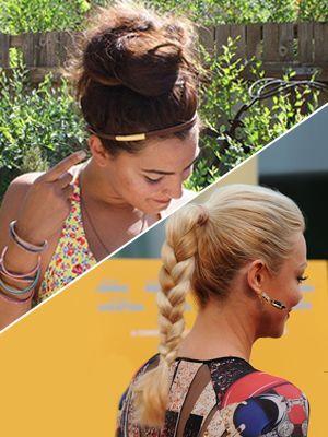 Wear one of these not-so-typical daytime hairstyles