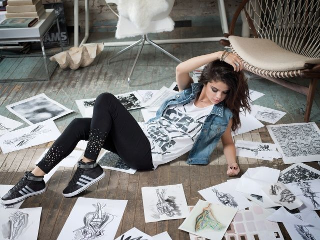 Adidas Neo Selena Gomez