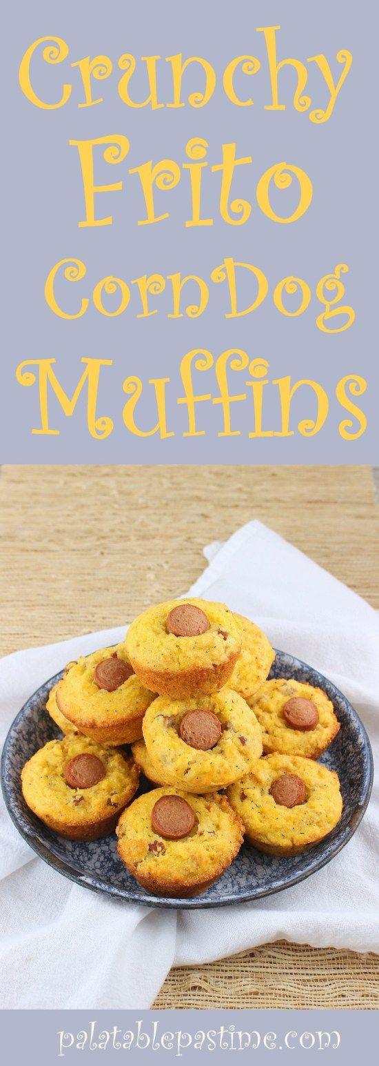 Frito Corn Dog Muffins