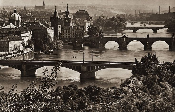 Prague and the Vltava River
