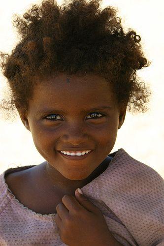 Afar girl from Eritrea